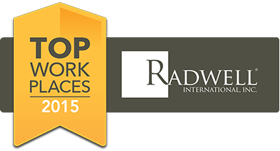 Radwell top places to work badge 2015 philly.com