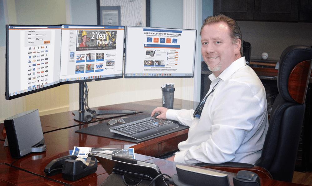 Brian Radwell Website Launch