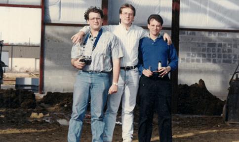 Tod Radwell, Brian Radwell and John Radwell