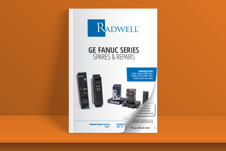 GE Fanuc catalog cover