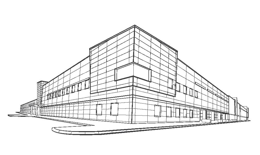 Willingboro building line drawing